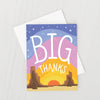 BIG THANKS CARD - katie diamond jewelry