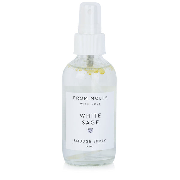 WHITE SAGE SMUDGE SPRAY - katie diamond jewelry