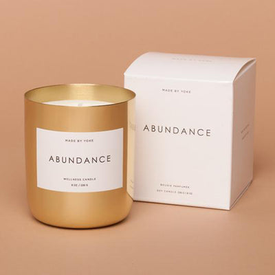 ABUNDANCE WELLNESS CANDLE - katie diamond jewelry