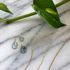 AQUAMARINE MARCH BIRTHSTONE CHARM