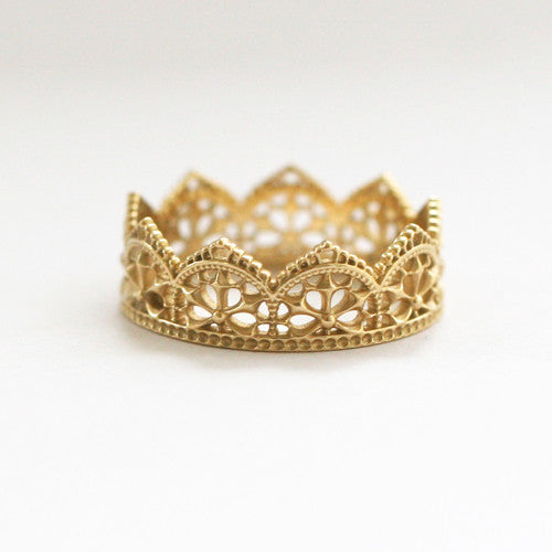 BIANCA LACE RING - katie diamond jewelry