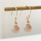 BIRTHSTONE EARRINGS - katie diamond jewelry
