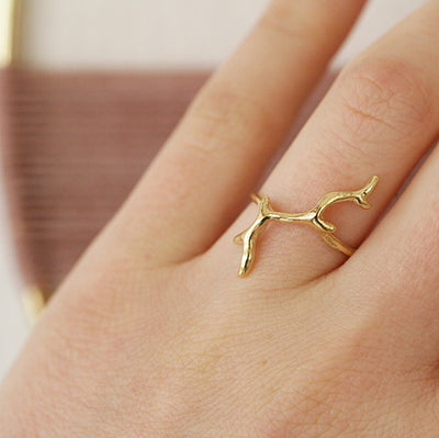 BRANCH RING - katie diamond jewelry