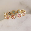 CARINA OMBRE TOURMALINE BAND - katie diamond jewelry