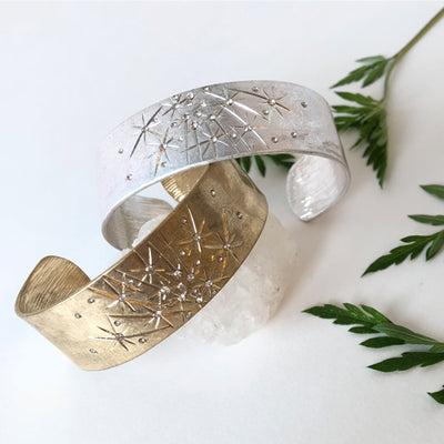 CELESTIAL CUFF - katie diamond jewelry