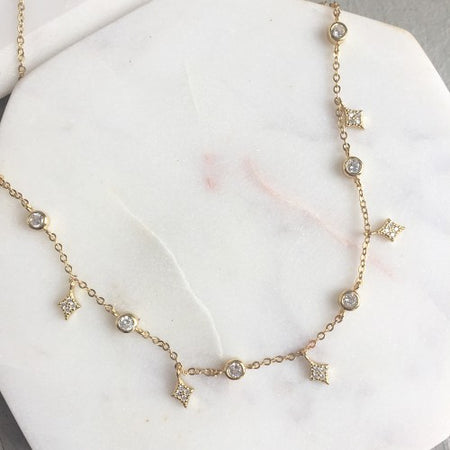 Sunshine Puka Necklace