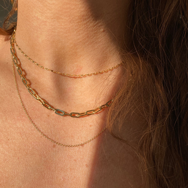 Sparkling Gold Plated Chains