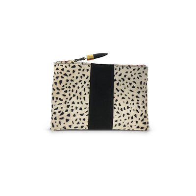 CHEETAH SMALL POUCH - katie diamond jewelry