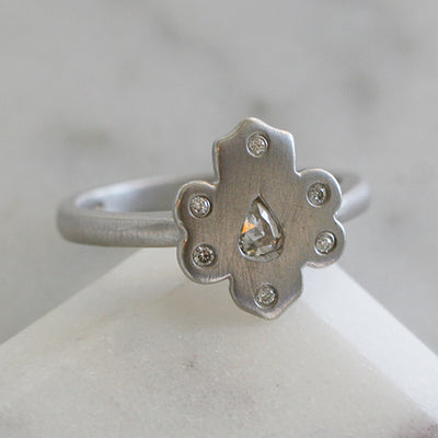 MELA RING - katie diamond jewelry