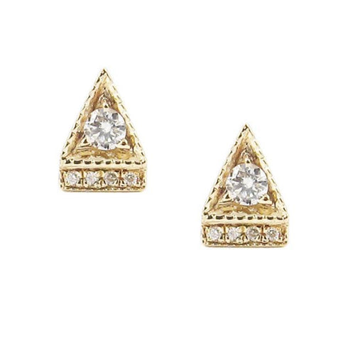 DECO POINT TRIANGLE STUD