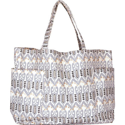 DELPHINA GREY RELAXED TOTE