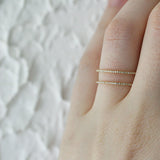 DOUBLE BAND DIAMOND RING