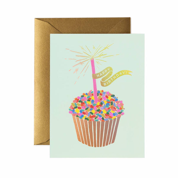 CUPCAKE BIRTHDAY CARD - katie diamond jewelry