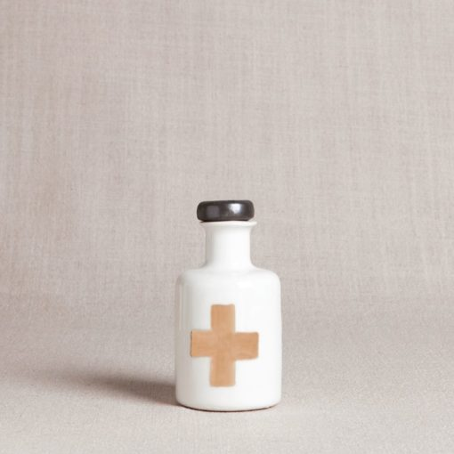 GOLD CROSS APOTHECARY BOTTLE