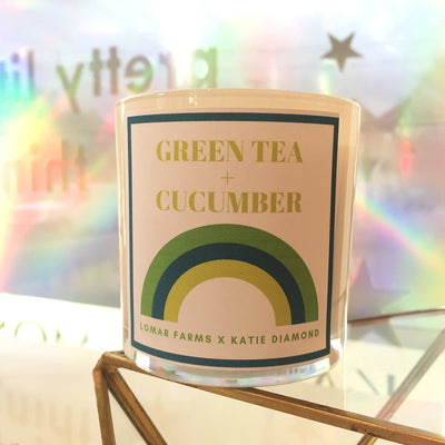 GREEN TEA + CUCUMBER CANDLE