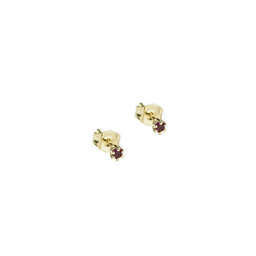 GRETTA STUDS 14K - katie diamond jewelry