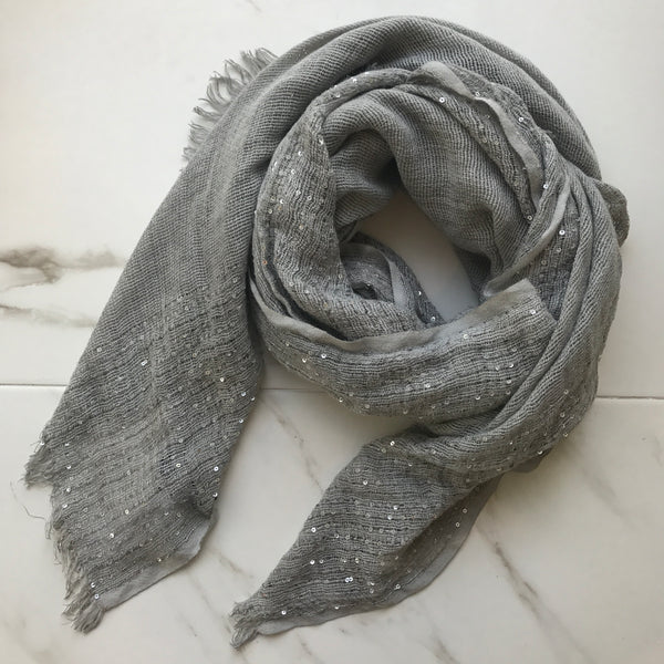 TIVI SCARF - CREAM