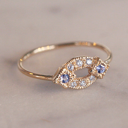HAZEL RING - katie diamond jewelry
