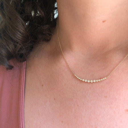 TROIS DIAMOND NECKLACE