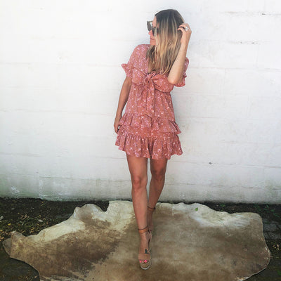 JET SET MINI DRESS