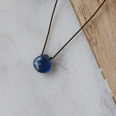 KYANITE ZEN GEM NECKLACE