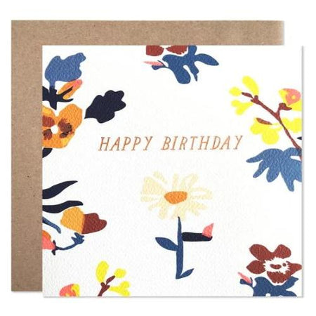 ROSE BIRTHDAY CARD