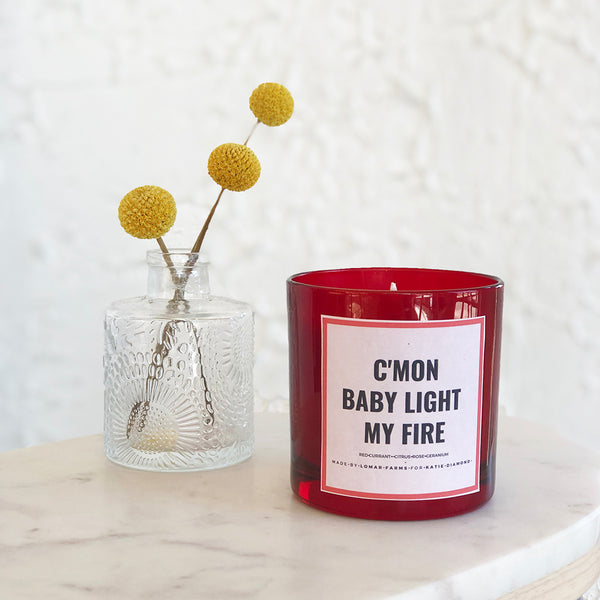 LIGHT MY FIRE CANDLE