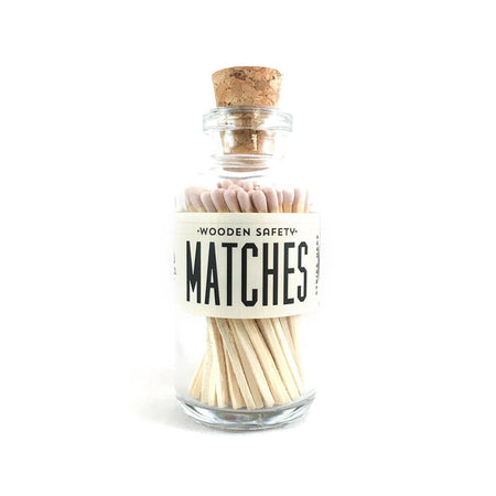 ORANGE MINI MATCHES APOTHECARY VINTAGE SMALL