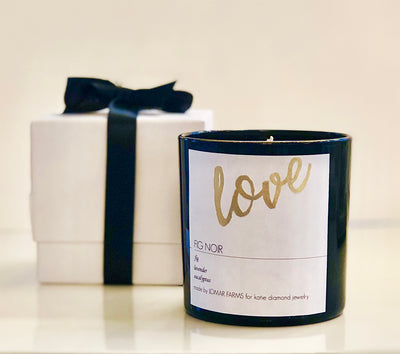 FIG NOIR LOVE CANDLE