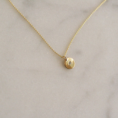 TINIEST INITIAL NECKLACE