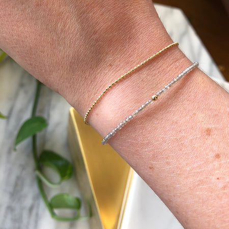 DOUBLE BAR DIAMOND BRACELET