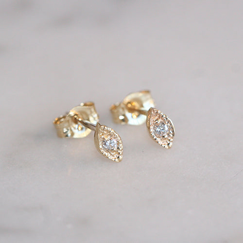 NOOR STUDS - katie diamond jewelry