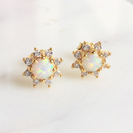 BIRTHSTONE EARRINGS