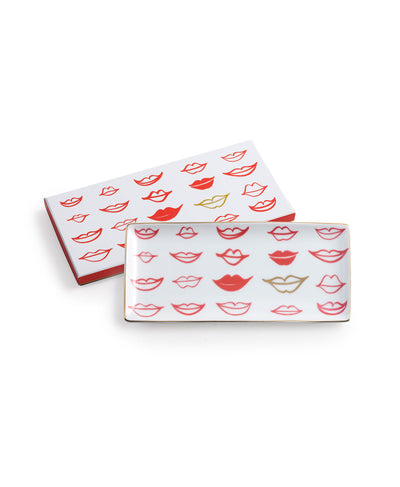 ALL YOU NEED IS LOVE LIPS TRAY - katie diamond jewelry