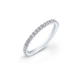 PAVE BIRTHSTONE ETERNITY BAND - katie diamond jewelry