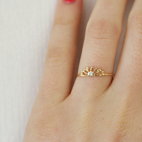 SUNRISE RING - katie diamond jewelry