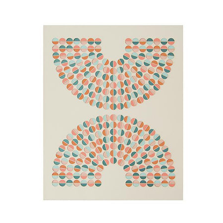 TRIBAL DIAMOND WATERCOLOR PRINT