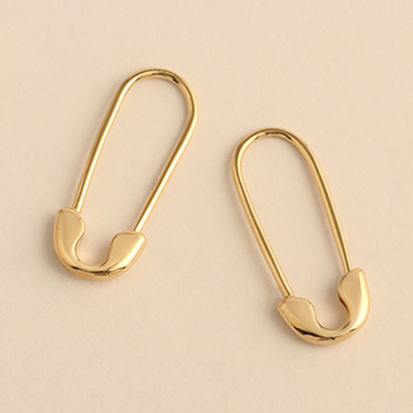 THE NANCY CLASSIC SAFETY PIN EARRING - SINGLE