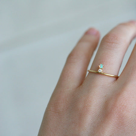 SMALL LUNA RING