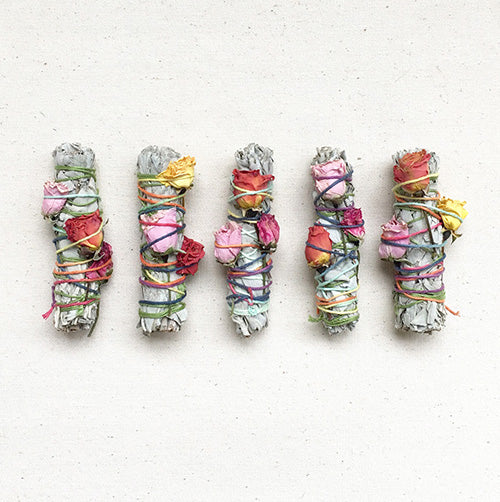FLORAL SMUDGE STICKS - katie diamond jewelry