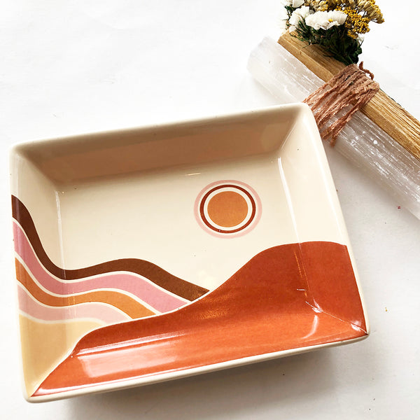 SOLSTICE CERAMIC TRAY