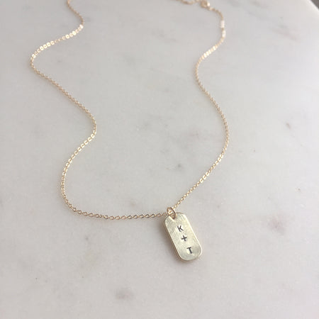 OPAL STATION NECKLACE