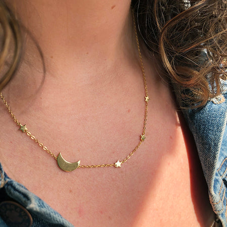 ASTORIA CURB CHAIN NECKLACE