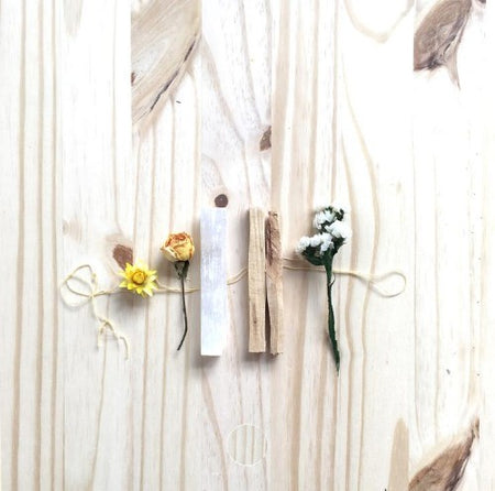 FLORAL SMUDGE STICKS