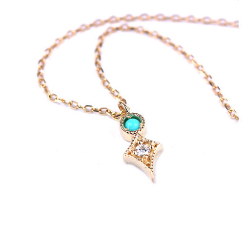 TAYLOR NECKLACE - katie diamond jewelry