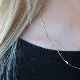 Gold Initial Letter Necklace