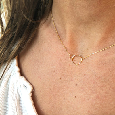INTERLOCKING FOREVER NECKLACE