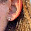 WISHING STAR DIAMOND STUDS