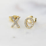 XO STUDS - katie diamond jewelry
