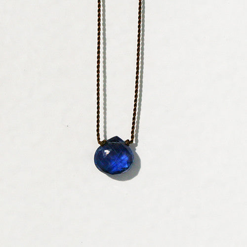 KYANITE ZEN GEM NECKLACE - katie diamond jewelry